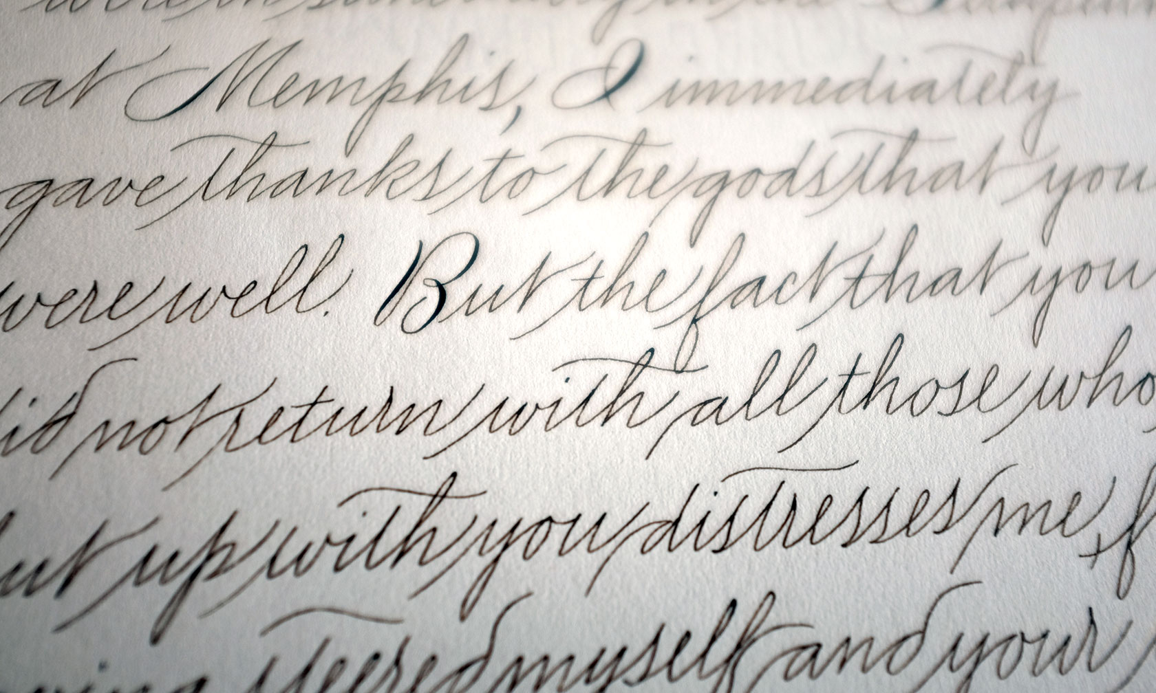 Emily Modern A True Handwriting Style With American Roots Fluent And Graceful Lovely For Letters Here In Quite Free Variation