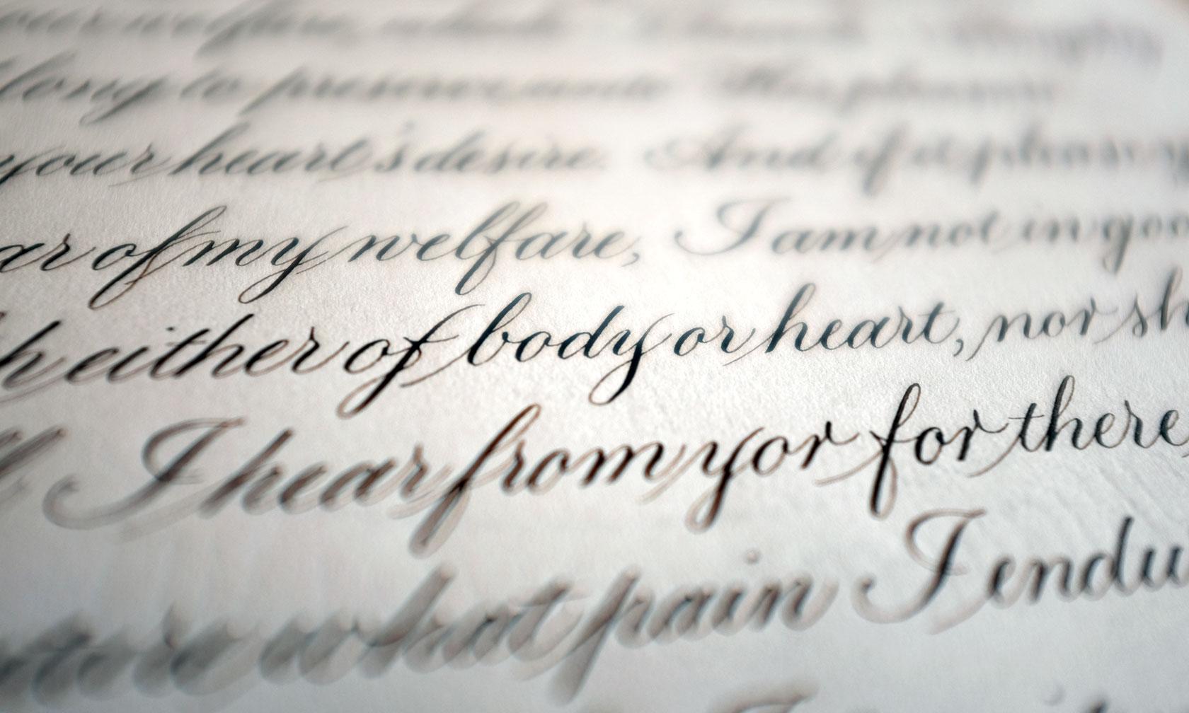 Federflug Calligraphy Script Styles