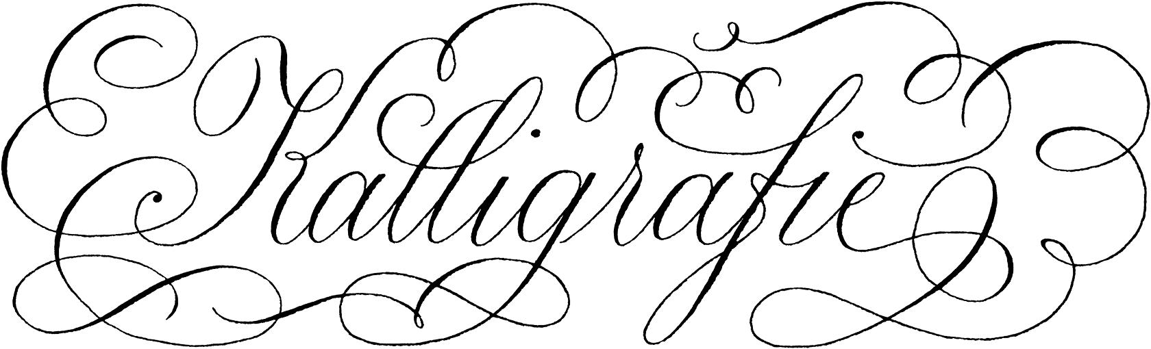 Federflug Kalligrafie :: Lernen | Workshops :: Calligraphy ...